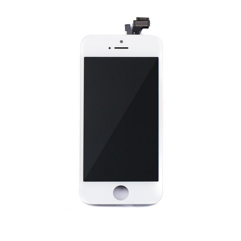 LCD and Digitizer Touch Screen Assembly for iPhone 5 [Standard Plus / White]