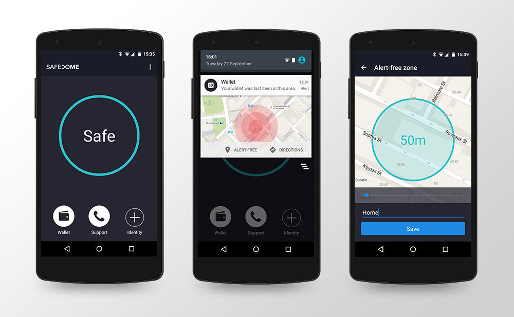 Safedome Android app: Intuitive and comfortable for Android users