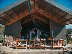 tiny house workshop. All Organic Homecooked Food And Accommodation In One Of Our Tiny Houses Are Included. We Use Outside Compost Toilets There Shared Bathroom House Workshop