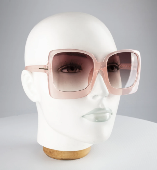 Acid Pink Sunglasses