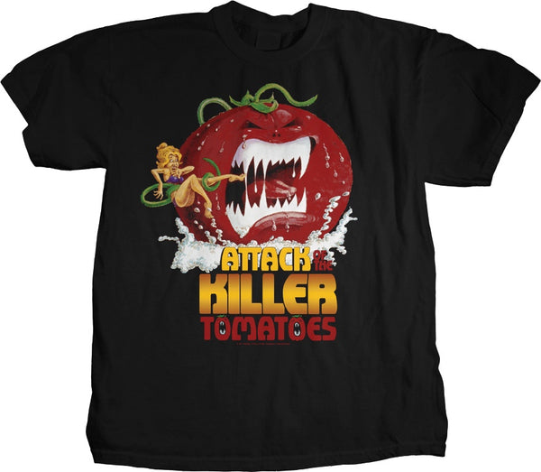 Attack of the Killer Tomatoes Movie Poster Tee