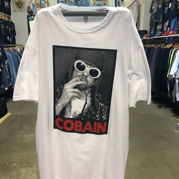 Kurt Cobain Smoking Tee