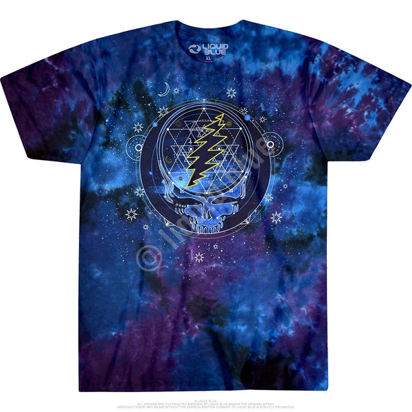 Grateful Dead Mystical Stealie Black Tee