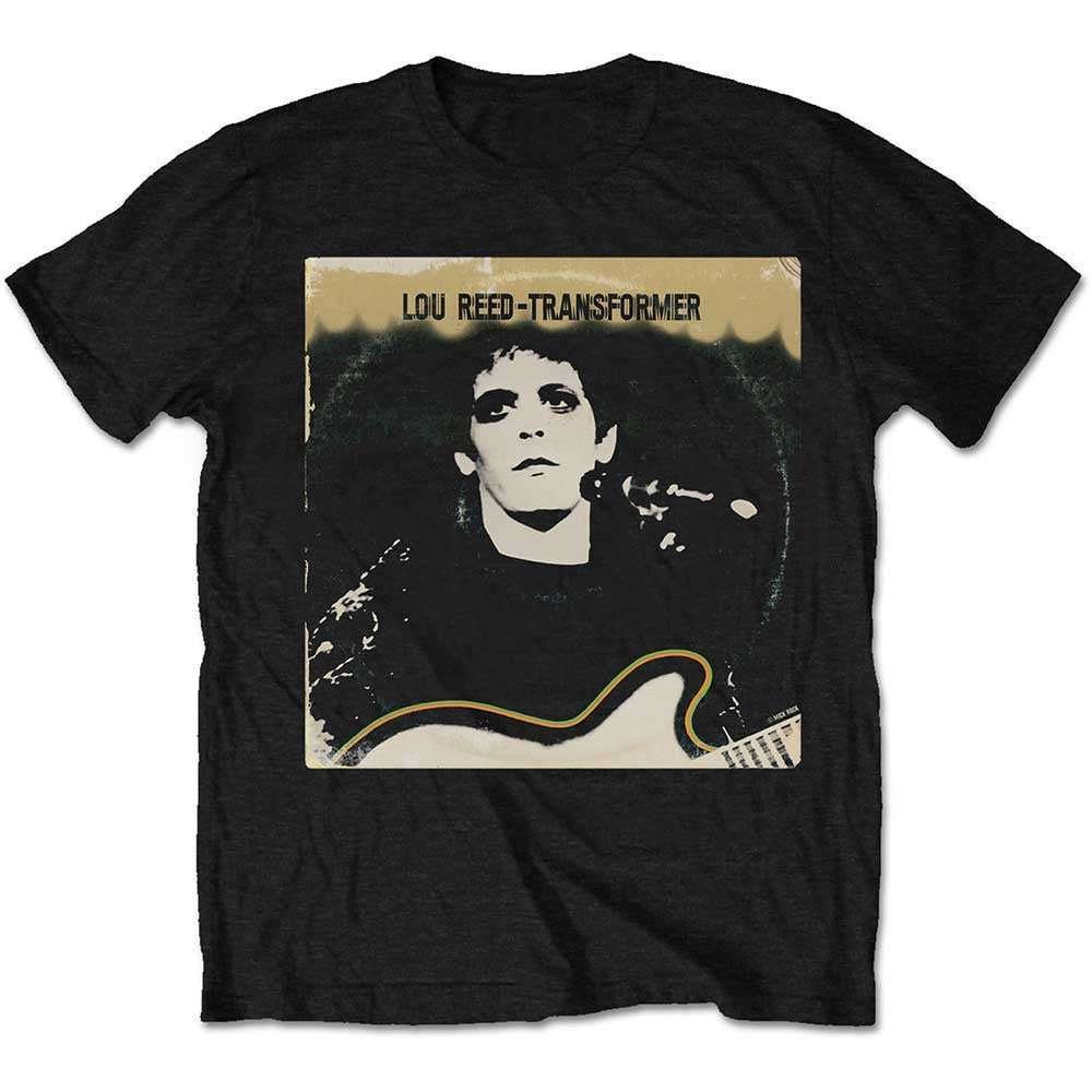 Lou Reed Transformer Vintage Cover Tee