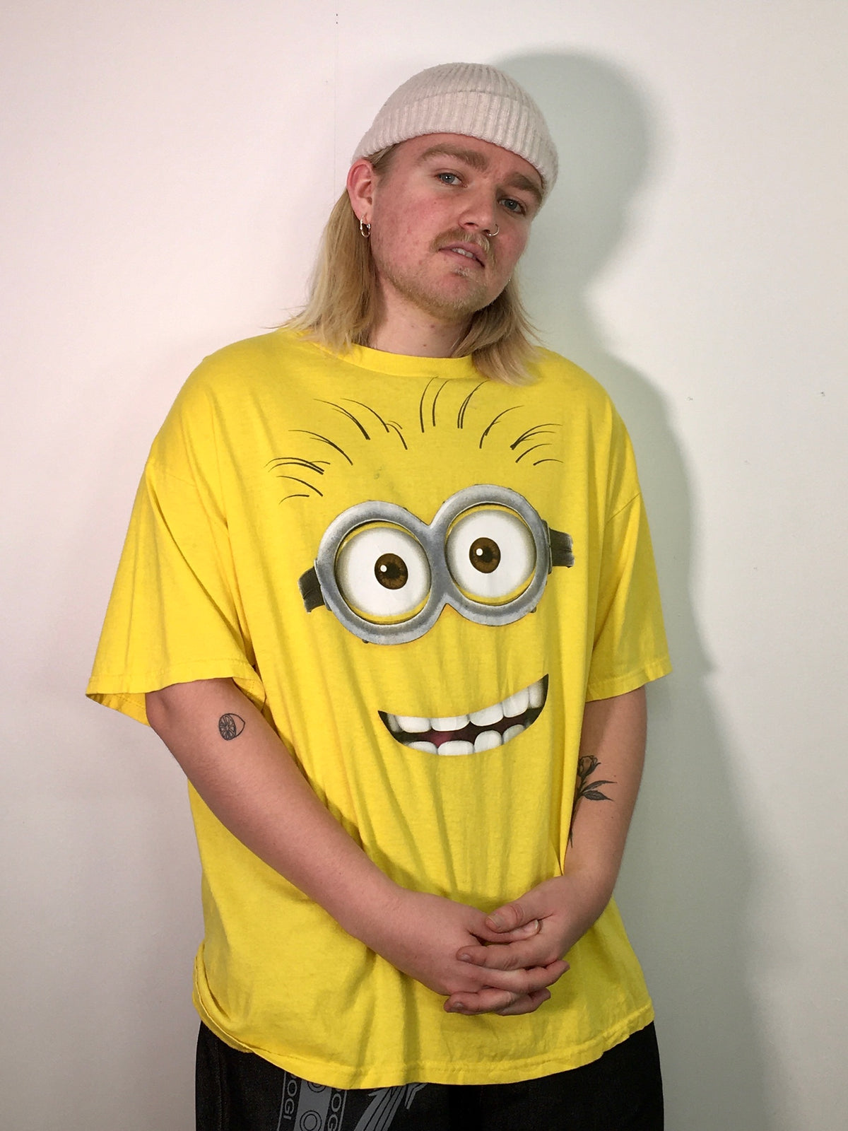 Despicable Me 2 Yellow Vintage Tee