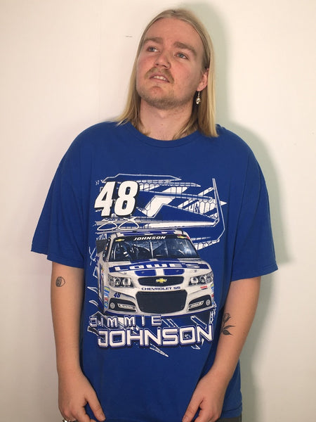 Jimmie Johnson NASCAR Racing Vintage Tee