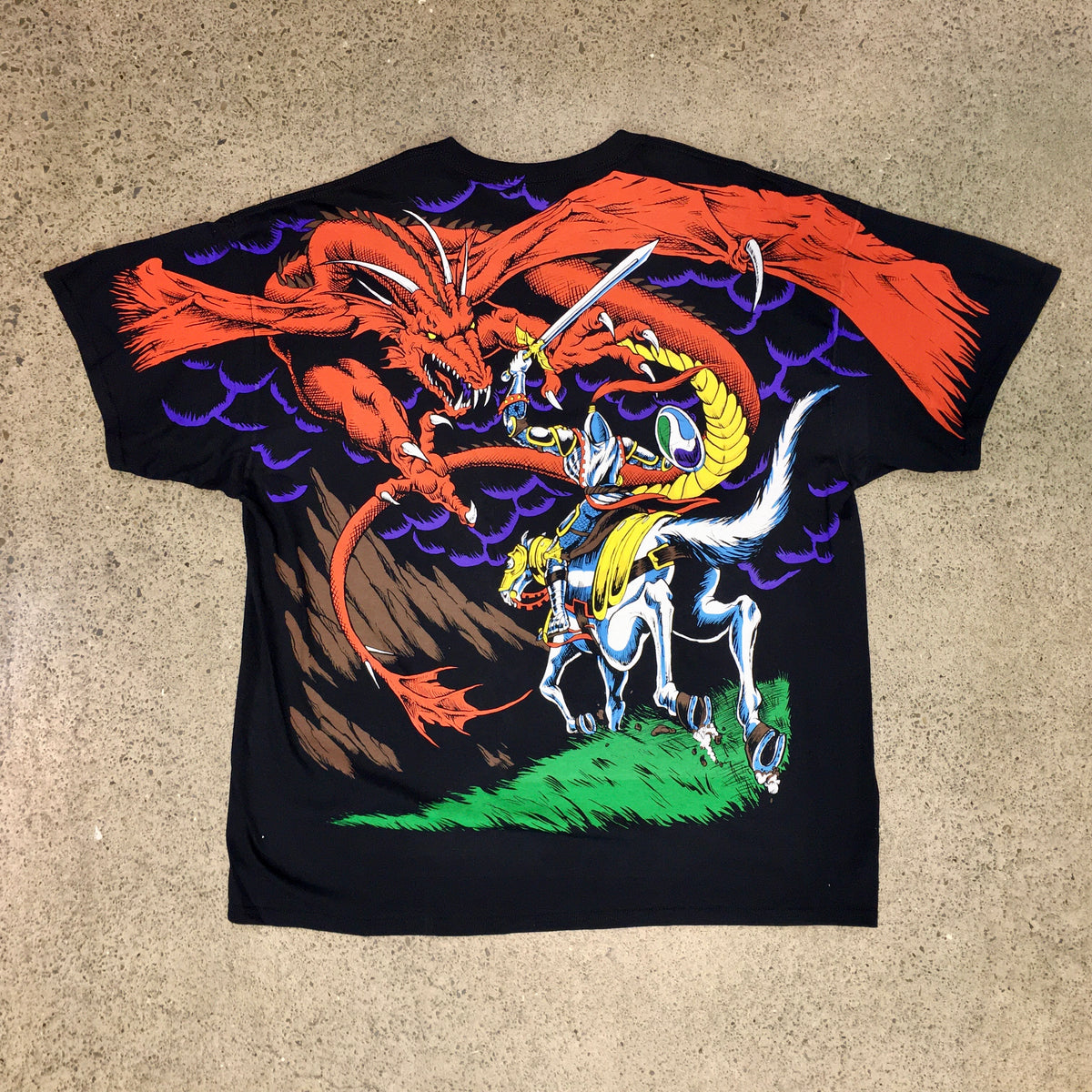 Dragon Liquid Blue Tee