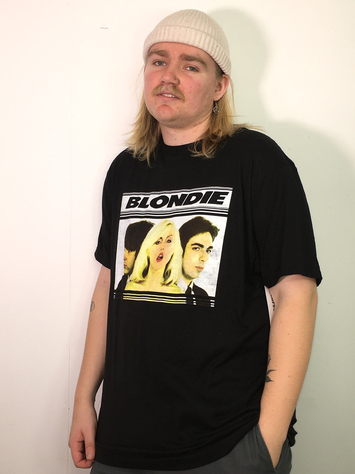 Blondie Hot Lips Tee