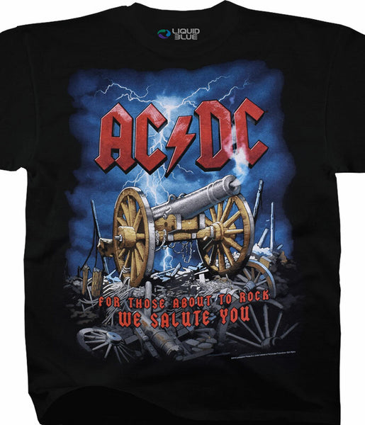 AC-DC Cannon Carnage Tee