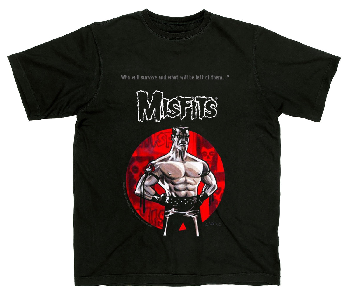 Misfits Jerry Only Lukic Tee