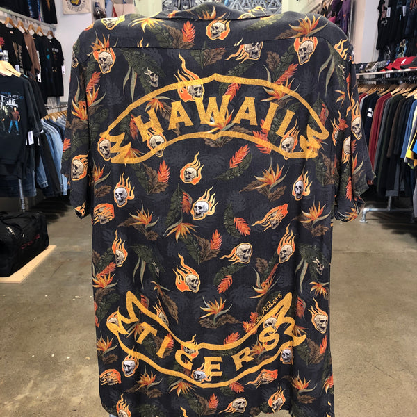 Rude Riders Los Hawaiian Skull Shirt