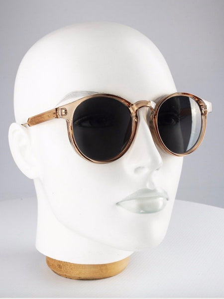 Clockwork Champagne Sunglasses