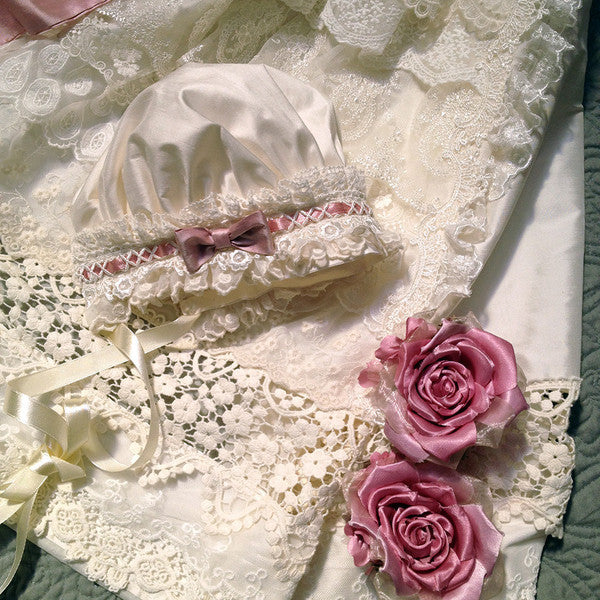 Angela Lace Royal Baby Gown