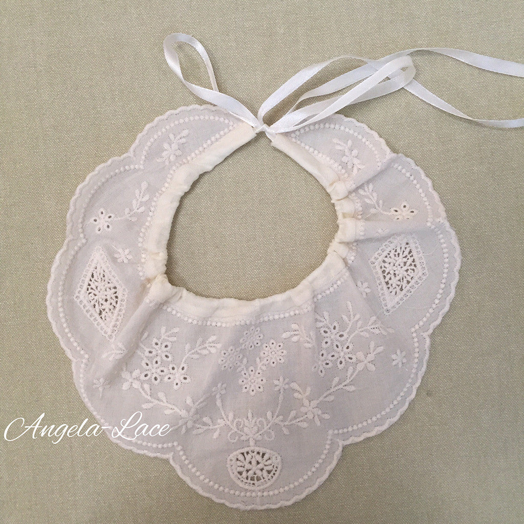 Baby Bonnet & Bib Set
