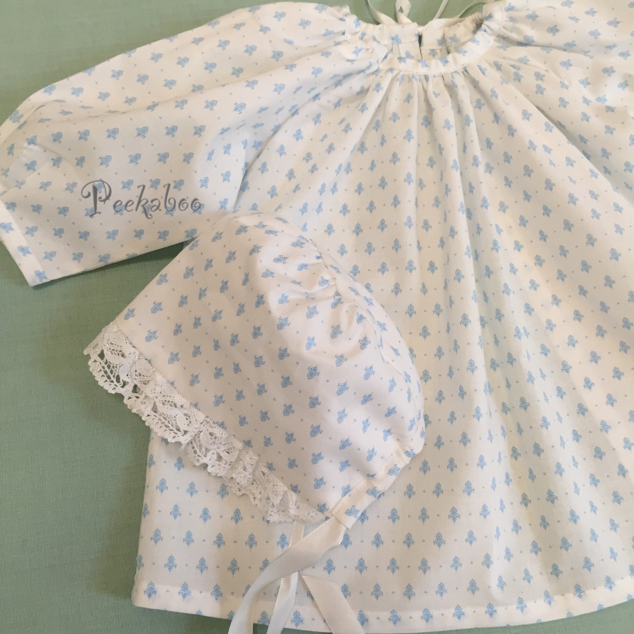 Cotton Baby Dress Angela Lace