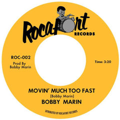 Marin, Bobby|Movin Much Too Fast