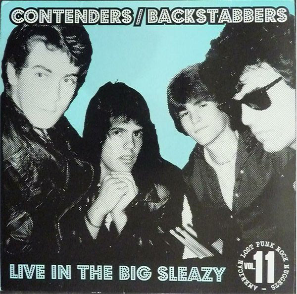 Contenders / Backstabbers ‎| Live In The Big Sleazy