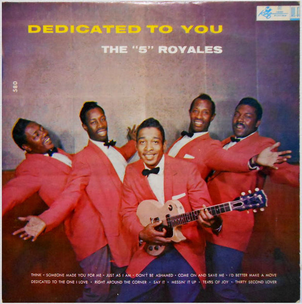 Five Royales|Dedicated To You