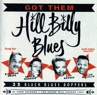 GOT THEM HILLBILLY BLUES|VARIOUS ARTISTS