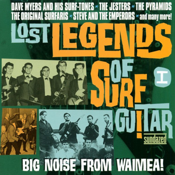 Lost Legends Of Surf Guitar Vol. 1|Various Artists