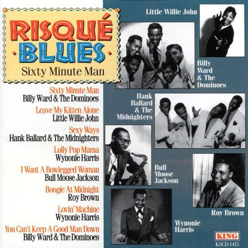 Risqué Blues - Sixty Minute Man|Various Artists
