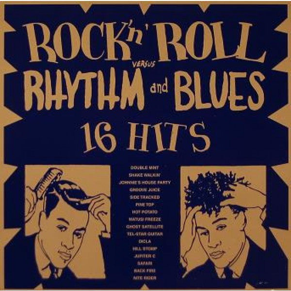 Rock And Roll Vs Rhythm And Blues|Various Artists