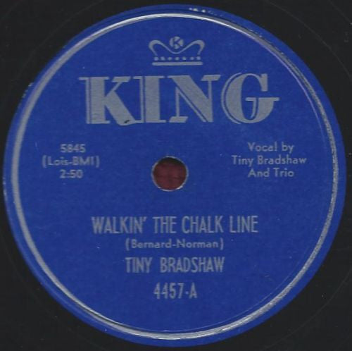 Bradshaw, Tiny|Walkin' The Chalk Line