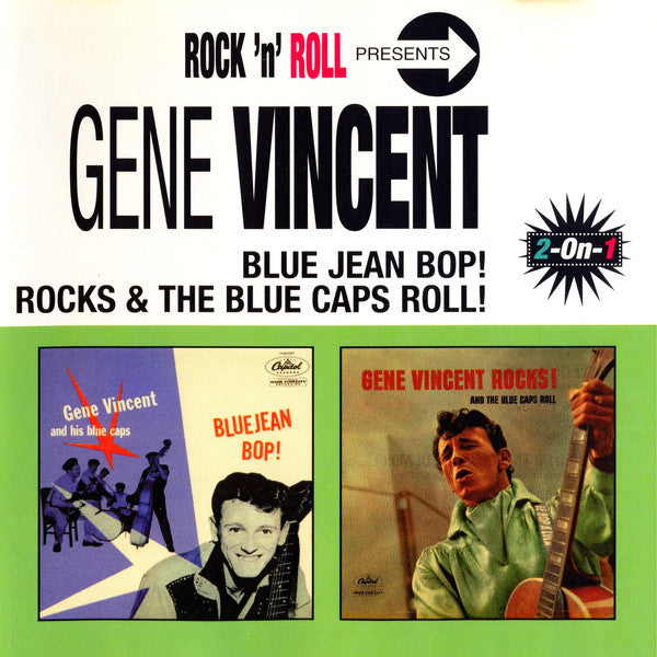 Vincent, Gene|Blue Jean Bop! + Rocks & The Blue Caps Roll!