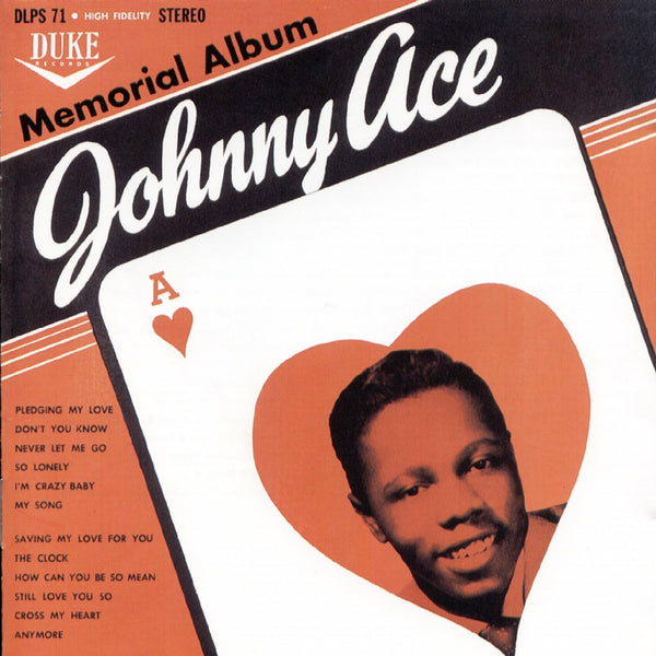 Ace, Johnny  - Memorial Album