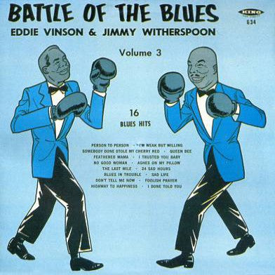Battle Of The Blues Vol. 3 - Various Artists