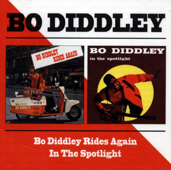 Diddley, Bo|In The Spotlight + Rides Again