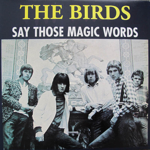 Birds|SAY THOSE MAGIC WORDS (BLUE VINYL)