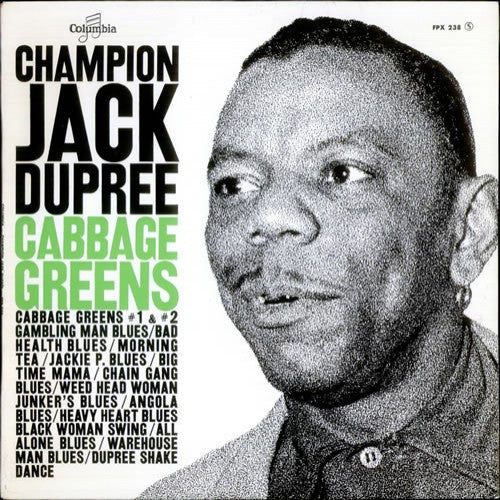 Champion Jack Dupree - Cabbage Greens