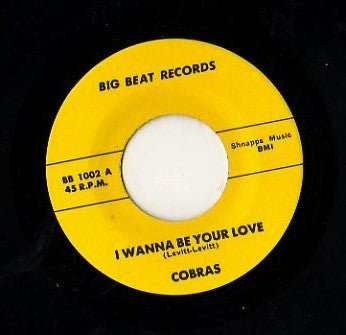 Cobras|I Wanna Be Your Love
