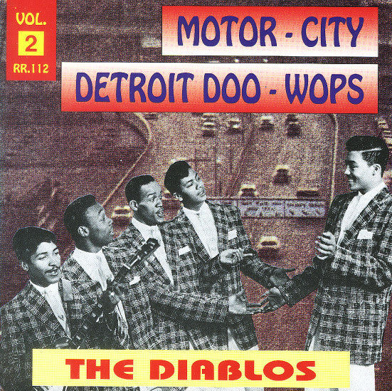 Strong, Nolan  & The Diablos|Motor-City Detroit Doo-Wops Vol. 2