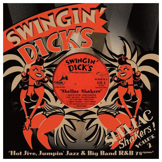 Swingin' Dicks - Shellac Shakers Vol. 2 |Various Artists