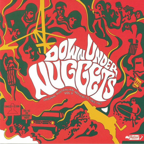 DOWN UNDER NUGGETS VOL.2 (AUSTRALIA 1965-67)|Various Artists