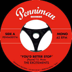 Excitements|You d Better Stop