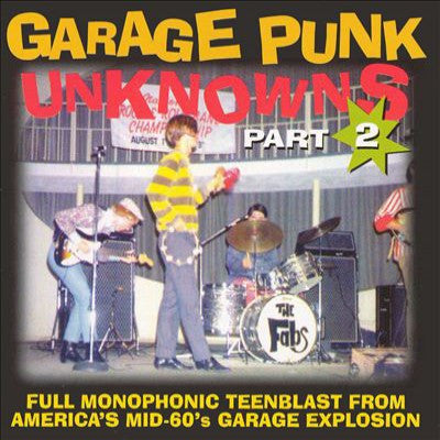 Garage Punk Unknowns Part 2 - Various Artists