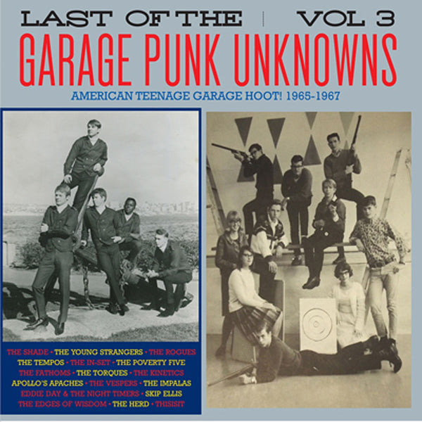 Last Of The Garage Punk Unknowns Vol. 3 - Various Artists