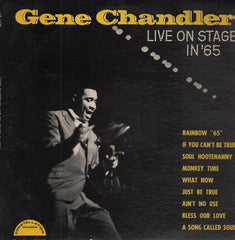 Chandler, Gene|Live On Stage in '65