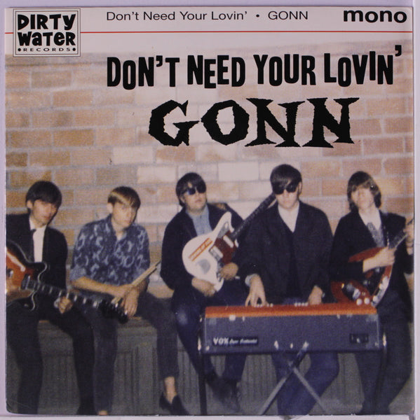 Gonn|Don't Need Your Lovin