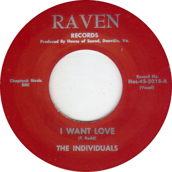 Individuals|I Want Love
