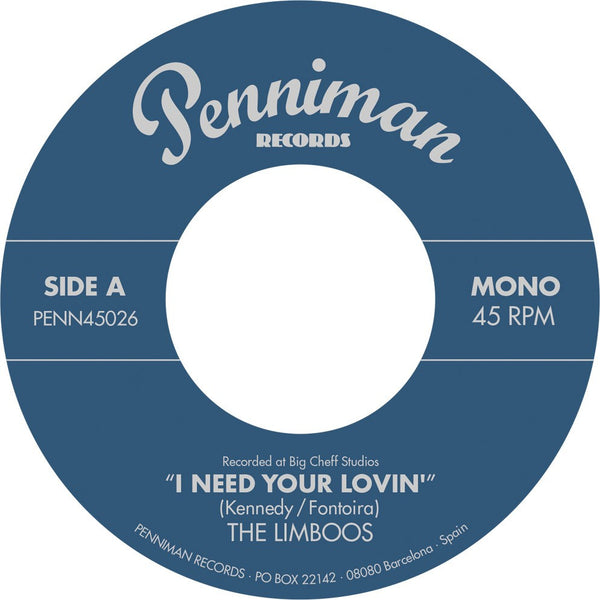Limboos, The - I Need Your Lovin' b/w I'm a Fool