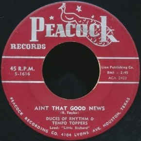 Little Richard - Duces of Rhythm & Tempo Toppers|Ain't That Good News