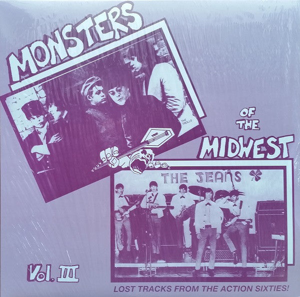 Monsters of the midwest vol. 3 - Lost Tracks From The Action Sixties!|Various Artists