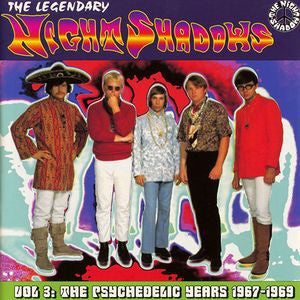 Night Shadows, The Legendary  - The Psychedelic Years 1967-1969