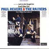 Revere, Paul  & The Raiders - Just Like Us!