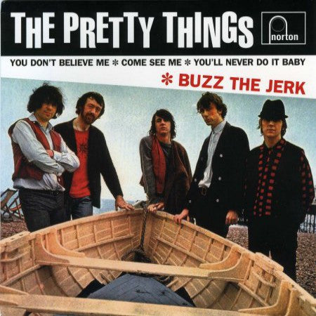 Pretty Things  - Buzz The Jerk+3 Ep