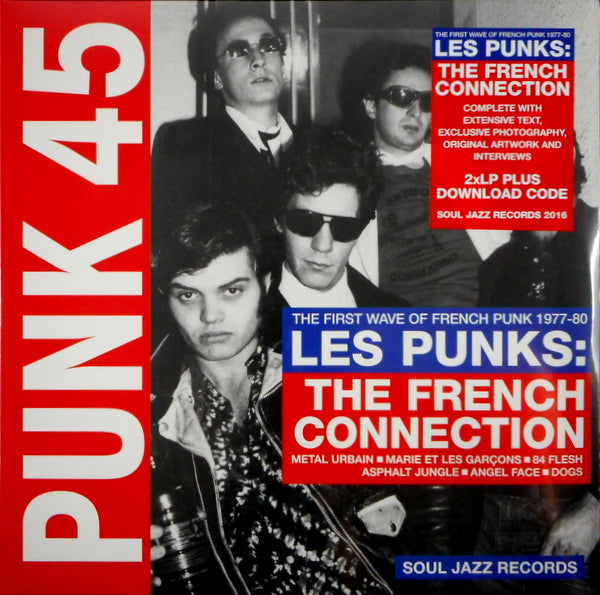PUNK 45, LES PUNKS: THE FRENCH CONNECTION*|Various Artists
